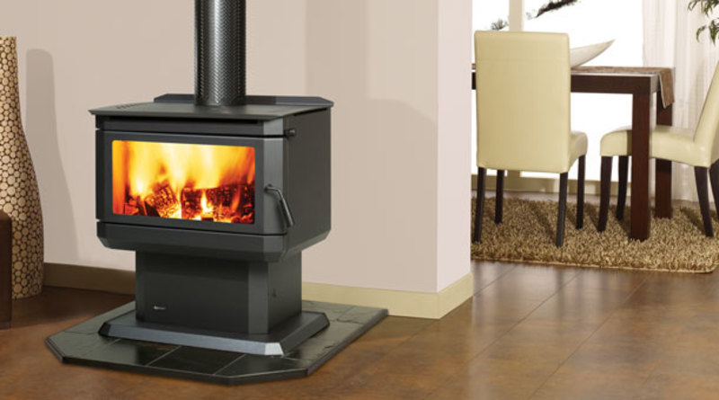 Freestanding Fireplace