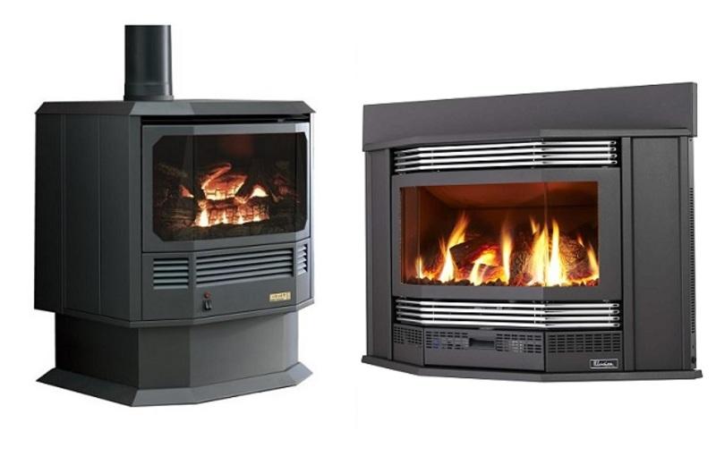Gas Log Fire Heaters
