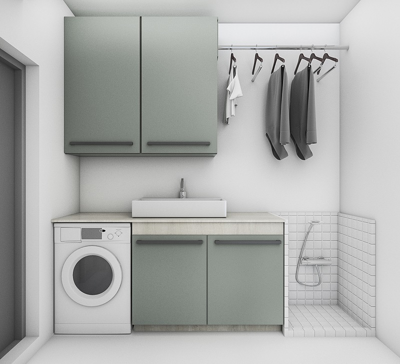 Laundry Cupboards  - Increase the functionality of your home by Installing Laundry Cupboards